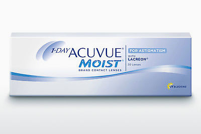 隐形眼镜 Johnson & Johnson 1 DAY ACUVUE MOIST for ASTIGMATISM 1MA-30P-REV