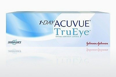 隐形眼镜 Johnson & Johnson 1 DAY ACUVUE TruEye 1D4-90P-REV