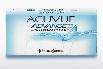 隐形眼镜 Johnson & Johnson ACUVUE ADVANCE with HYDRACLEAR AVG-6P-REV