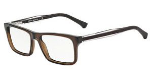 Emporio Armani EA3002 5073 DARK BROWN TRANSP