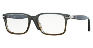 Persol PO2880VM 1012 DARK GREY GRADIENT BROWN