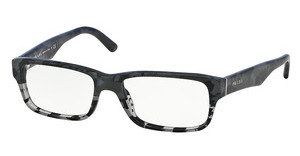 Prada PR 16MV RON1O1 MIMETIC BLACK/MT GREY TRANSP