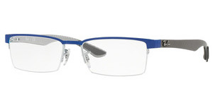 Ray-Ban RX8412 2891 GREY TOP ON BLUE