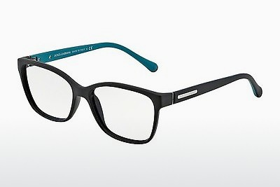 专门设计眼镜 Dolce & Gabbana OVER-MOLDED RUBBER (DG5008 2814) - 黑色