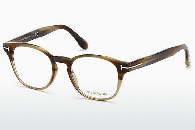 专门设计眼镜 Tom Ford FT5400 65A - 牛角, Horn, Brown