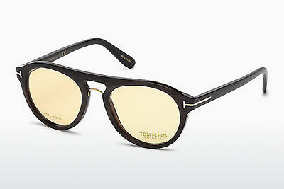 专门设计眼镜 Tom Ford FT5438-P 64E - 牛角, Horn, Brown