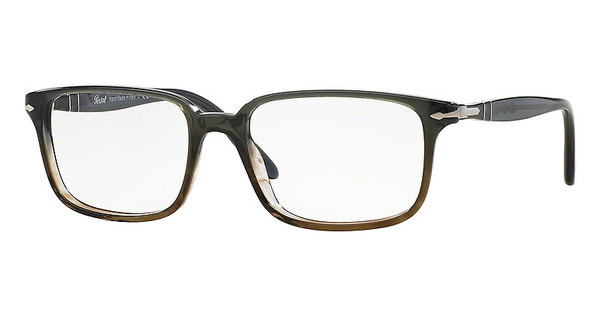 Persol PO3013V 1012 DARK GREY GRAD. GREEN BROWN