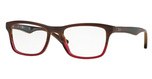 Ray-Ban RX5279 5541 BROWN HORN GRAD TRASP BORDEA