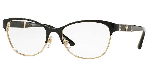 Versace VE1233Q 1366 BLACK/PALE GOLD