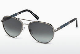 太阳镜 Ermenegildo Zegna EZ0066 14B - 灰色, Shiny, Bright