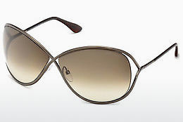 太阳镜 Tom Ford Miranda (FT0130 36F) - 棕色, Dark, Shiny