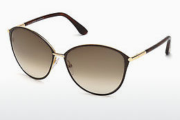 太阳镜 Tom Ford Penelope (FT0320 28F) - 金色