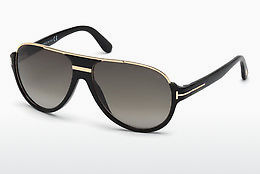 太阳镜 Tom Ford Dimitry (FT0334 01P) - 黑色, Shiny