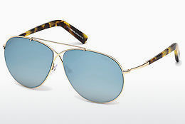 太阳镜 Tom Ford Eva (FT0374 28X) - 金色