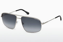 太阳镜 Tom Ford Justin Navigator (FT0467 17W) - 灰色, Matt, Palladium