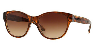 DKNY DY4133 368713 DARK BROWN GRADIENTDARK TORTOISE CRYSTAL