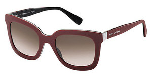 Marc Jacobs MJ 560/S LGD/K8 BROWN SFBRGN BLCK (BROWN SF)
