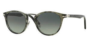 Persol PO3108S 102071 LIGHT GREY GRAD DARK GREYSTRIPED GREY