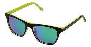 Police S1936 7VHV SMOKE MULTILAYER GREENSEMI MATT BLK/ACID GREEN