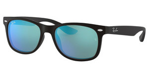 Ray-Ban Junior RJ9052S 100S55 BLUE MIRRORMATTE BLACK