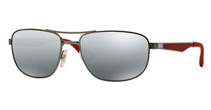 Ray-Ban RB3528 029/88 GREY MIRROR SILVER GRADIENTMATTE GUNMETAL
