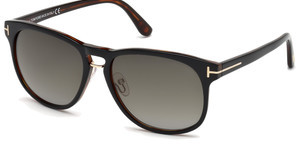 Tom Ford FT0346 01V blauschwarz glanz
