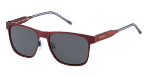 Tommy Hilfiger TH 1394/S R1B/IR GREY BLUEMTRED RED