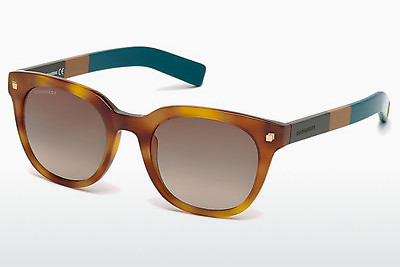 太阳镜 Dsquared DQ0208 53K - 哈瓦那, Yellow, Blond, Brown