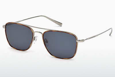 太阳镜 Ermenegildo Zegna EZ0052 14V - 灰色, Shiny, Bright