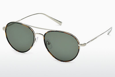 太阳镜 Ermenegildo Zegna EZ0053 14N - 灰色, Shiny, Bright