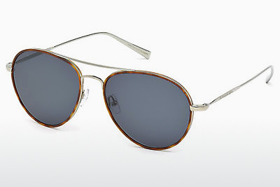 太阳镜 Ermenegildo Zegna EZ0053 14V - 灰色, Shiny, Bright