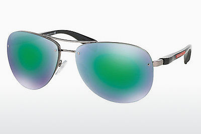 太阳镜 Prada Sport PS 56MS (65) (PS 56MS 5AS1M2) - 银色, Pewter