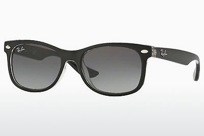 太阳镜 Ray-Ban Junior RJ9052S 702211 - 黑色, 透明