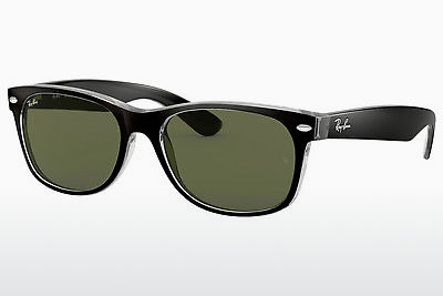 太阳镜 Ray-Ban NEW WAYFARER (RB2132 6052) - 黑色, 透明