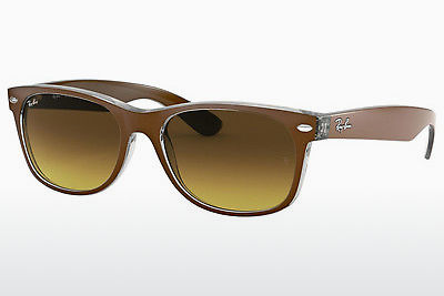 太阳镜 Ray-Ban NEW WAYFARER (RB2132 614585) - 棕色, 透明