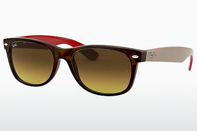 太阳镜 Ray-Ban NEW WAYFARER (RB2132 618185) - 棕色, 哈瓦那