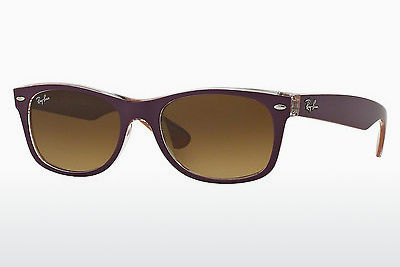 太阳镜 Ray-Ban NEW WAYFARER (RB2132 619285) - 紫色, 橙色