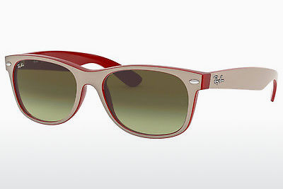 太阳镜 Ray-Ban NEW WAYFARER (RB2132 6307A6) - 白色, 红色
