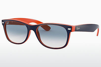 太阳镜 Ray-Ban NEW WAYFARER (RB2132 789/3F) - 蓝色, 橙色
