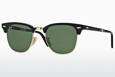 太阳镜 Ray-Ban CLUBMASTER FOLDING (RB2176 901) - 黑色