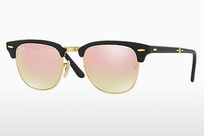 太阳镜 Ray-Ban CLUBMASTER FOLDING (RB2176 901S7O) - 黑色