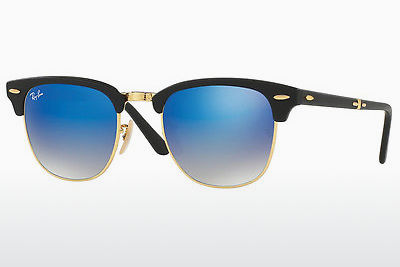 太阳镜 Ray-Ban CLUBMASTER FOLDING (RB2176 901S7Q) - 黑色
