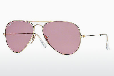 太阳镜 Ray-Ban AVIATOR LARGE METAL (RB3025 001/15) - 金色
