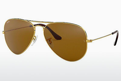 太阳镜 Ray-Ban AVIATOR LARGE METAL (RB3025 001/33) - 金色
