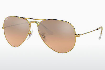 太阳镜 Ray-Ban AVIATOR LARGE METAL (RB3025 001/3E) - 金色