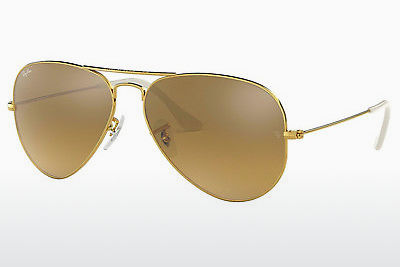太阳镜 Ray-Ban AVIATOR LARGE METAL (RB3025 001/3K) - 金色
