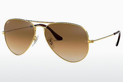 太阳镜 Ray-Ban AVIATOR LARGE METAL (RB3025 001/51) - 金色