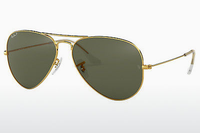 太阳镜 Ray-Ban AVIATOR LARGE METAL (RB3025 001/58) - 金色