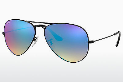太阳镜 Ray-Ban AVIATOR LARGE METAL (RB3025 002/4O) - 黑色