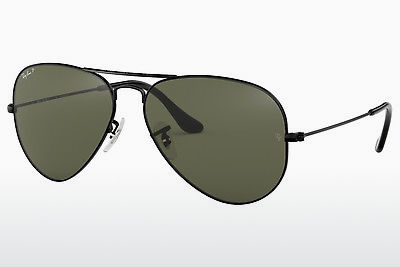 太阳镜 Ray-Ban AVIATOR LARGE METAL (RB3025 002/58) - 黑色